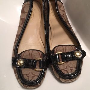Coach driving Moccasins Size 6.5
